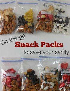 Easy to grab homemade snack packs ensure kids can have a healthy snack anytime. … Easy to grab homemade snack packs ensure kids can have a healthy snack anytime. On The Go Snacks, Snacks For Work, Lunch Snacks, Healthy Breakfast For Kids, Healthy School Snacks, Healthy Snacks For Traveling, Healthy Sweets, Clean Eating, Healthy Eating