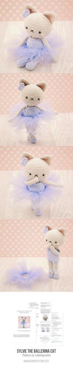 Sylvie The Ballerina Cat Amigurumi Pattern