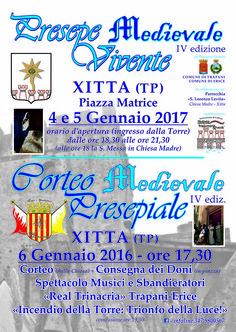 Italia Medievale: Presepe Medievale di Xitta (TP)