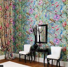 Arundel Peacock Wallpaper                                                                                                                                                                                 More