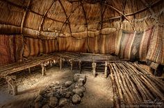 The Wampanoag were the American Indians who met the Pilgrims that arrived in Plymouth, MA, the location where the first Thanksgiving is said to have happened.