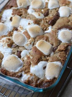 smores bars - love that it uses the big marshmallows!