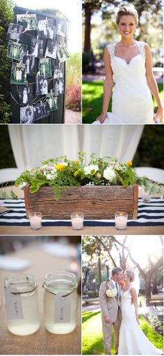 i love this entire wedding theme, bride's look= simple and beautiful