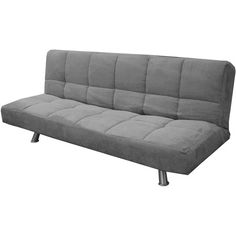 Gray Futon Chair Bed Bedroom Mattress Grey White