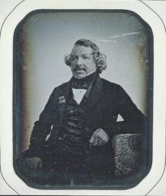 Sabatier-Blot, Jean Baptiste French (1801-1881) TITLE ON OBJECT: Louis Jacques Mande Daguerre 1844 George Eastman House
