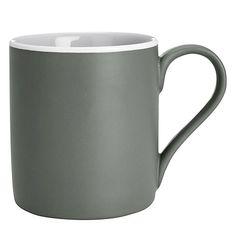 Buy John Lewis Puritan Mug, Grey from our Mugs range at John Lewis & Partners. Ceramic Mugs, Stoneware, Grey Office, John Lewis, Minimalist Fashion, Neutral, Ceramics, Simple, Tableware