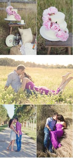 I love this idea for a stylized first anniversary session