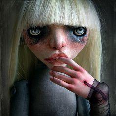 art doll  sculpture  ooak  ROXY by HorkaDolls on Etsy