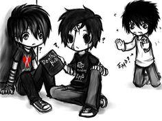 Are you emo, scene, punk, goth? Emo Love, Cute Emo, Princesa Emo, Amor Emo, Tim Burton, Frases Emo, Animes Emo, Emo Cartoons, Emo Princess