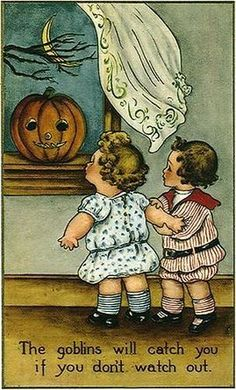 Frances Brundage Halloween # 446 Witch Counted Cross Stitch Pattern