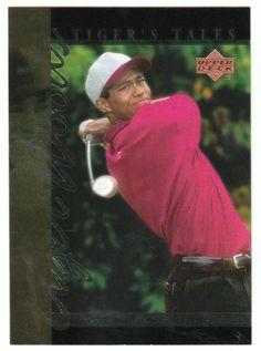 Tiger Woods # TT-10 - 2001 Upper Deck Golf Tiger's Tales