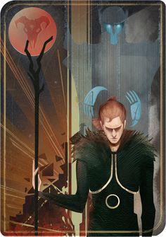 Anders tarot card