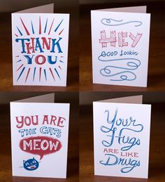 Illustrated Greeting Cards by Familytree I Paper Crave