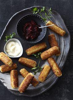 Chorizo and Potato Croquettes - Dish