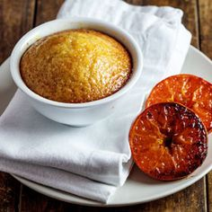 Syrupy clemengold puddings