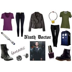 """ninth doctor"" by leonizbeth on Polyvore"