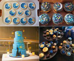 starry wedding cakes UK