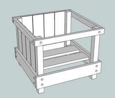 We designed this DIY outdoor planter box with traditional and classic detailing in mind. It would be a great addition for your porch, deck, or patio.