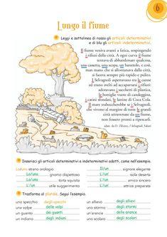 """1 i gruppi CE/CIE, GE/GIE (7); i gruppi SCE/SCI/SCIE/SI (9); i gruppi CU/QU/CQU (12); i gruppi GNI/NI, GLI/LI (23); la punteggiatura (28, 38); l'uso dell'H nel verbo """"avere"""" (37); il discorso diretto e indiretto (47); l'uso del verbo """"essere"""" (49, 50) l'espansione diretta (8); il soggetto e il predicato (16); il predicato verbale e nominale (17); le espansioni indirette (34, 42); la frase semplice e la frase complessa (57) Visita il nostro sito: www.cetem.it Reading Worksheets, Learning Italian, English Study, Problem Solving, L2, Preschool, Language, Italian Vocabulary, Geography"""