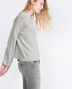 Image 1 of SOFT TOUCH SWEATER from Zara