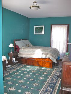Teal ROOMS   Teal Bedroom