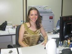 Aos 23 anos, Andreia Ricas Palhares foi aprovada no concurso da Procuradoria-Geral da Fazenda Nacional (Foto: Arquivo pessoal)