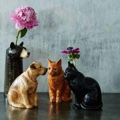 Animal Flower Vases | Vases & Plant Pots | Graham & Green