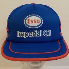 Esso Snapback truckers hat Cap  | eBay