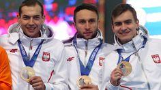 Zbigniew Bródka, Konrad Niedźwiedzki i Jan Szymański
