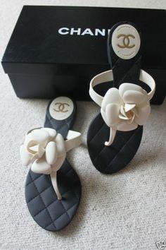 CHANEL CLASSIC CREAM  BLACK CAMELLIA FLOWER ! Beautiful Adidas women shoes - http://amzn.to/2jB6Udm