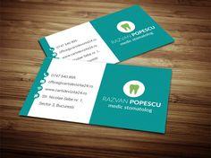 "Model carti de vizita ""Dentist 10"" Medical, Med School, Medicine, Active Ingredient"