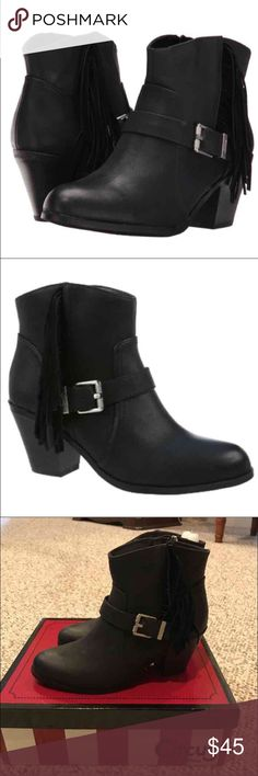 New Circus Sam Edelman Leah Boots 7.5M 🔥PRICE FIRM🔥 Color: Black Circus by Sam Edelman Shoes Ankle Boots & Booties