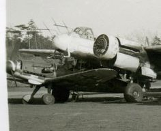 Foto-3-deut-Jagd-Flugzeuge-Me-109-G6-Tarn-44-45-Beute-Cant-Italien-Ju-88-Radar