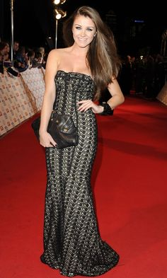 Brooke Vincent At The National Televsion Awards, 2013 | Look