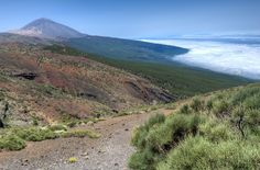 Situated on the island of Tenerife, Teide National Park features the Teide-Pico Viejo stratovolcano that, at 3,718 m, is the highest peak on Spanish soil