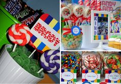 Candyland Party Treats {via www.anygivenparty.com}