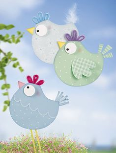 easter crafts for kids Diy Crafts Love, Fun Crafts, Easter Art, Easter Crafts, Diy For Kids, Crafts For Kids, Spring Decoration, Easy Valentine Crafts, Spring Birds
