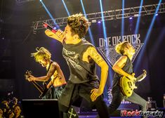 25 awesome photos: One OK Rock in first Manila show Upbeat Songs, Hit Songs, Six Feet Under, Rock Videos, Music Station, One Ok Rock, Pop Rocks, My Favorite Music, Twenty One Pilots