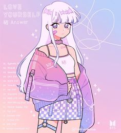 LY Answer 💜 decorate the comments with pink purple and blue! 💖💜💙 I had to start over with this one since I didn't like how the first… 365 Kawaii, Arte Do Kawaii, Kawaii Art, Cute Art Styles, Cartoon Art Styles, Cute Animal Drawings Kawaii, Cute Drawings, Random Drawings, Aesthetic Art