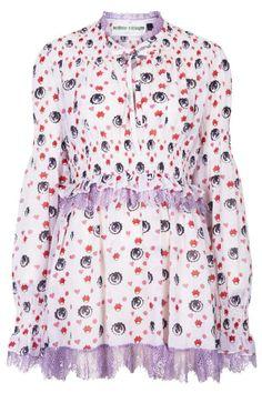 Meadham Kirchhoff for Topshop mini dress with eyeball print - http://thegliterati.net/2013/11/21/make-mine-meadham/