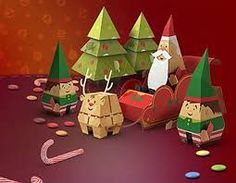 Image result for paper craft christmas