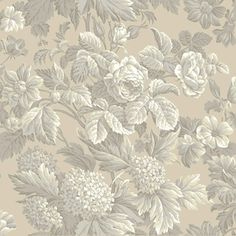 Find wallpaper close-out sale pricing for popular wallpaper patterns online courtesy of Wallpaper Warehouse. French Wallpaper, Grey Wallpaper, Wallpaper Roll, Pattern Wallpaper, Hall Wallpaper, Flowers Wallpaper, Wallpaper Ideas, Discount Wallpaper, Art Chinois