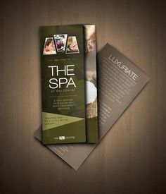 Examples of Spa Brochure Design