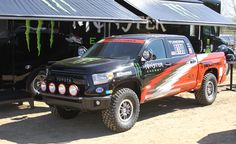 Toyota Tundra TRD Pro Series to Compete in Baja 1000. For more, click http://www.autoguide.com/auto-news/2014/08/2015-toyota-tundra-trd-pro-series-competing-baja-1000.html