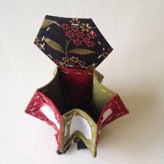 Alfiletero de hexagonos. Set de costura