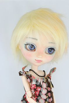 Wig fur for pullip dal taeyang. Size 9' by BellaDollaCreations