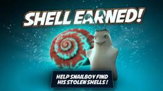 Snailboy, An Epic Adventure on the App Store App Store, Ipod Touch, Shell, Ipad, Adventure, Christmas Ornaments, Iphone, Holiday Decor, Xmas Ornaments