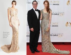 Darby Stanchfield In Georges Hobeika - 53rd Monte Carlo TV Festival Closing Ceremony