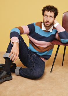 efficiency, and productivity are important. So are and Specializing in in the segment Cashmere stands for and articles as well as for a strong sense of with respect to correct conditions. Baby Blue, Pink Blue, Striped Knit, Gq, Cashmere, Menswear, Mens Fashion, Pure Products, Elegant