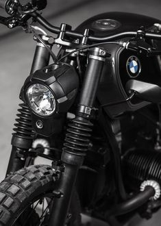 "The small Austrian motorcycle workshop Vagabund creates a black-on-black custom BMW 'R100R' cafe racer stripped to its bare necessities.     vagabund-moto.at Related postsBMW R100 Bobber #58 – Cafe Racer DreamsBMW R100 BA'R'A ""Mystic"" – Blitz MotorcyclesBMW R90 – Analog MotorcyclesBMW R100 – Kevils Speed Shop buildBMW Motosecours R1000 Racer SHARING"